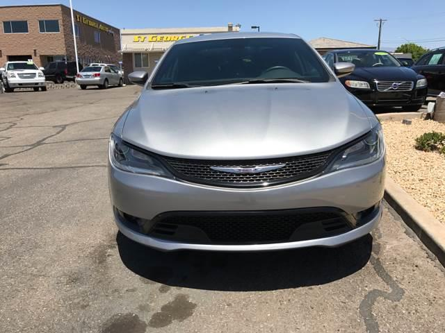 2015 Chrysler 200 for sale at St George Auto Gallery in St George UT
