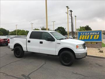 2008 Ford F-150 for sale at St George Auto Gallery in St George UT