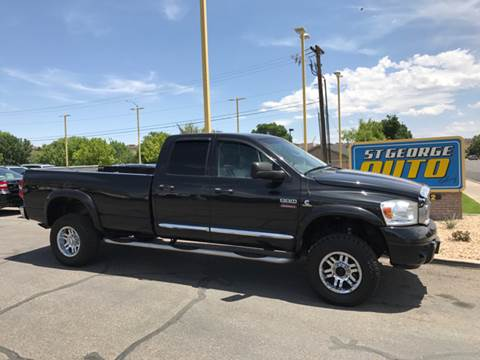 2007 Dodge Ram Pickup 2500 for sale at St George Auto Gallery in St George UT