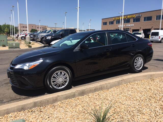 2015 Toyota Camry Hybrid for sale at St George Auto Gallery in St George UT