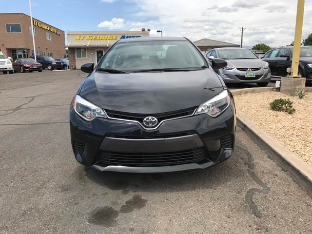2016 Toyota Corolla for sale at St George Auto Gallery in St George UT