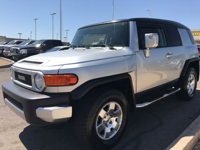 2007 Toyota FJ Cruiser for sale at St George Auto Gallery in St George UT