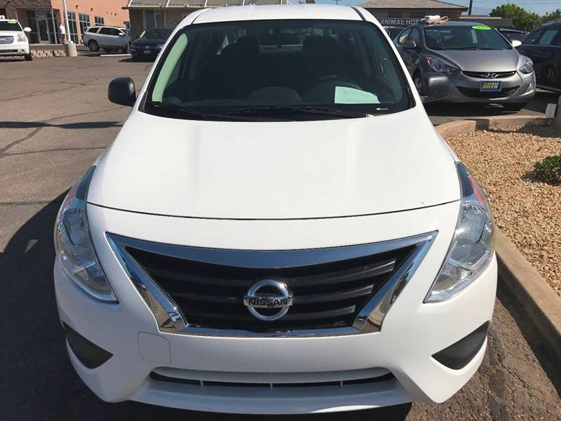 2015 Nissan Versa for sale at St George Auto Gallery in St George UT