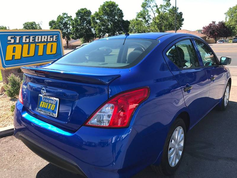 2016 Nissan Versa for sale at St George Auto Gallery in St George UT