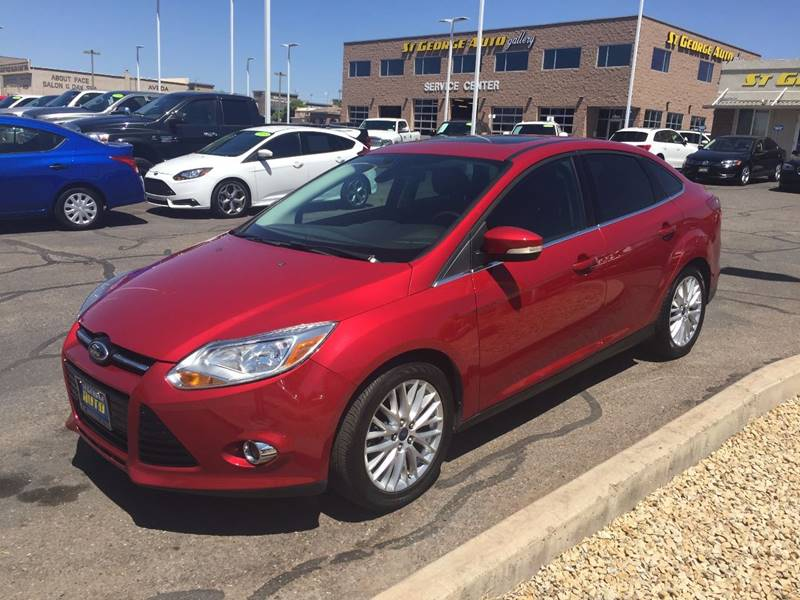 2012 Ford Focus for sale at St George Auto Gallery in St George UT