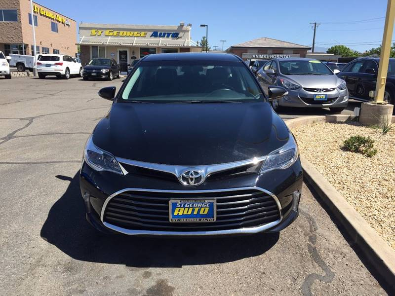 2016 Toyota Avalon for sale at St George Auto Gallery in St George UT