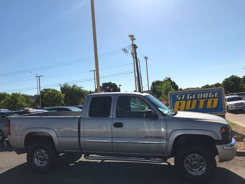 2004 GMC Sierra 2500HD for sale at St George Auto Gallery in St George UT