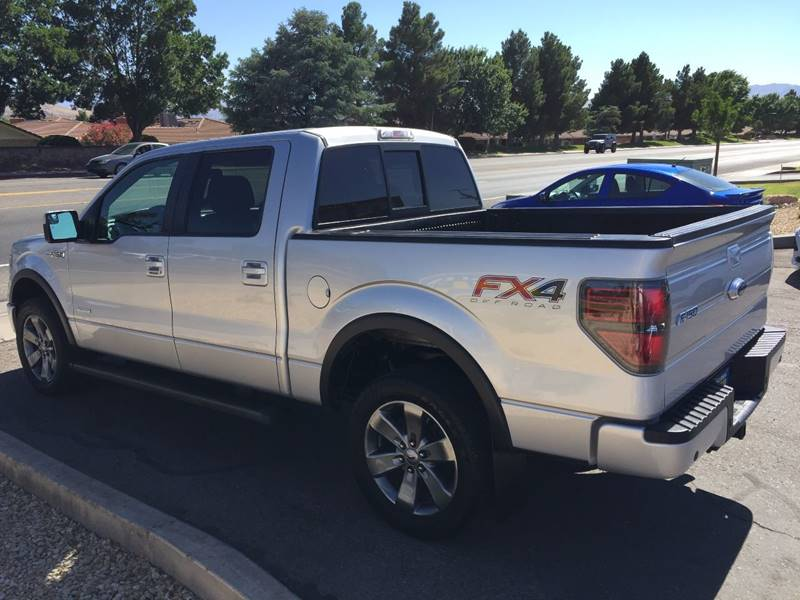 2013 Ford F-150 for sale at St George Auto Gallery in St George UT