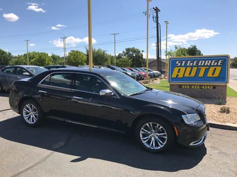 2016 Chrysler 300 for sale at St George Auto Gallery in St George UT