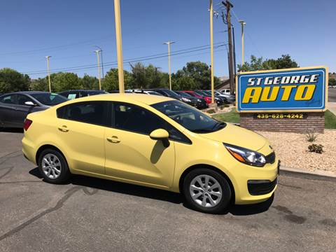 2016 Kia Rio for sale at St George Auto Gallery in St George UT