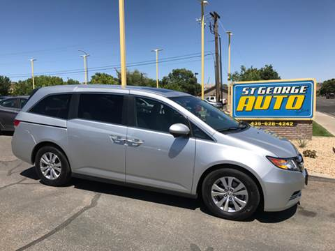 2014 Honda Odyssey for sale at St George Auto Gallery in St George UT