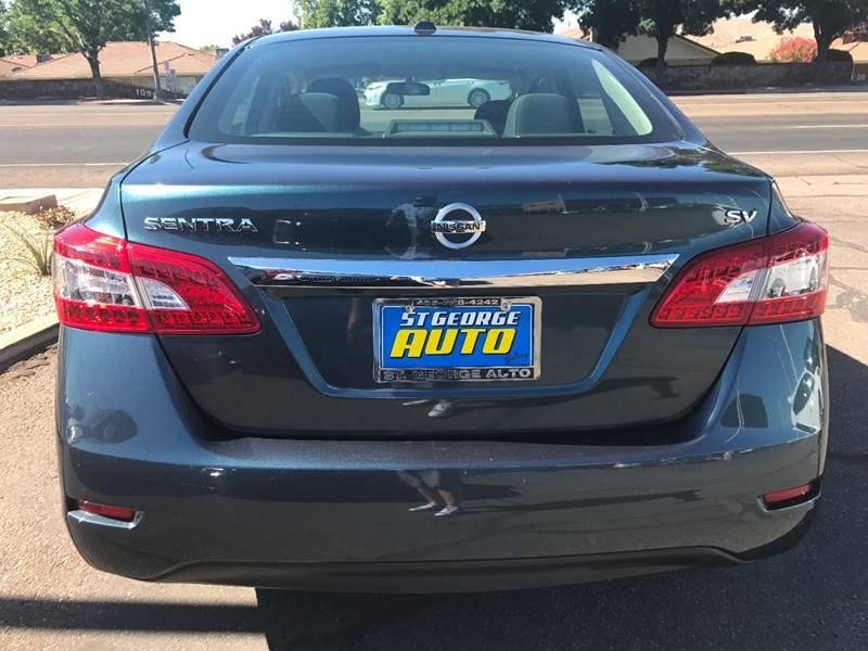 2015 Nissan Sentra for sale at St George Auto Gallery in St George UT
