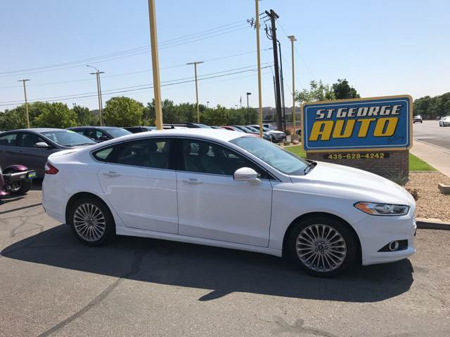2016 Ford Fusion for sale at St George Auto Gallery in St George UT