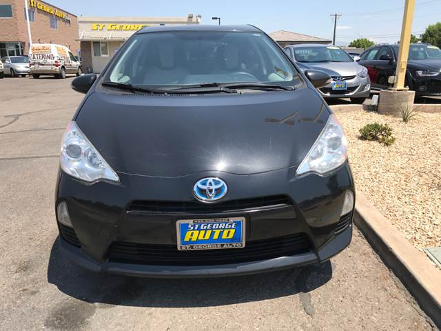 2013 Toyota Prius c for sale at St George Auto Gallery in St George UT