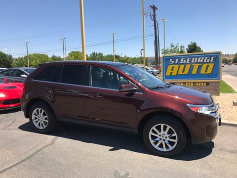 2012 Ford Edge for sale at St George Auto Gallery in St George UT