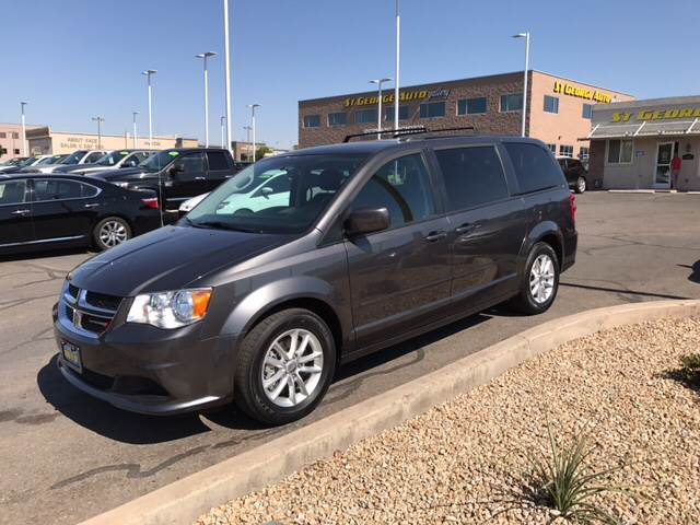 2016 Dodge Grand Caravan for sale at St George Auto Gallery in St George UT