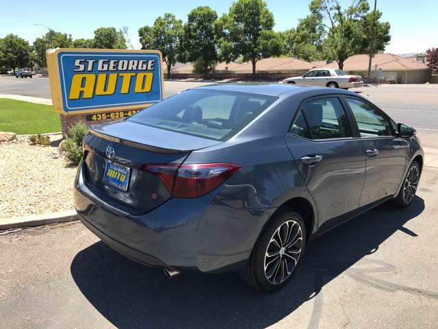 2015 Toyota Corolla for sale at St George Auto Gallery in St George UT