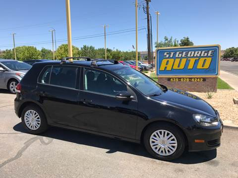2011 Volkswagen Golf for sale at St George Auto Gallery in St George UT