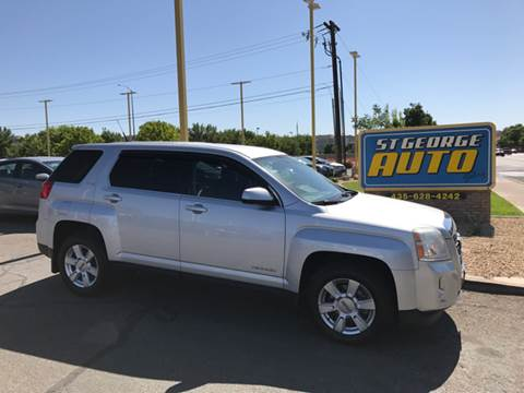 2010 GMC Terrain for sale at St George Auto Gallery in St George UT