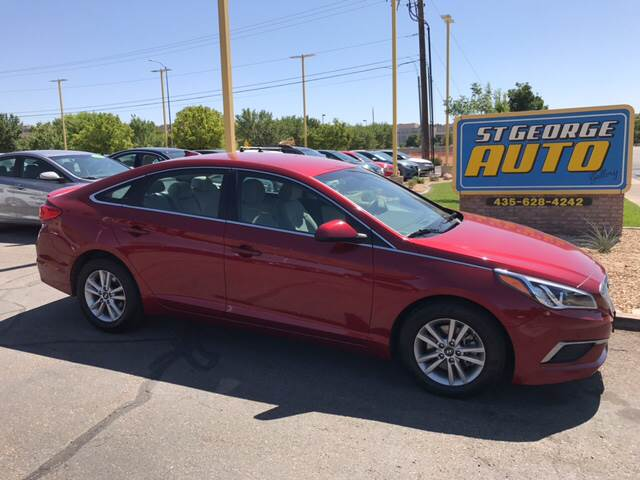 2016 Hyundai Sonata for sale at St George Auto Gallery in St George UT