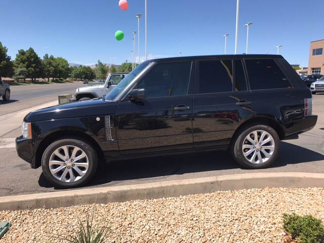 2008 Land Rover Range Rover for sale at St George Auto Gallery in St George UT