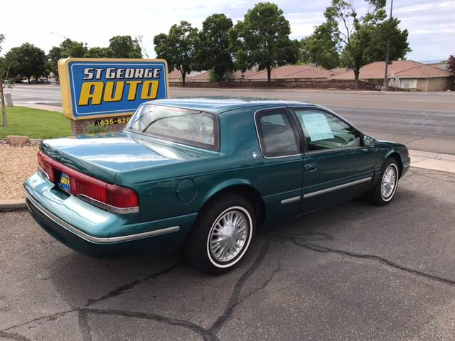 1996 Mercury Cougar for sale at St George Auto Gallery in St George UT