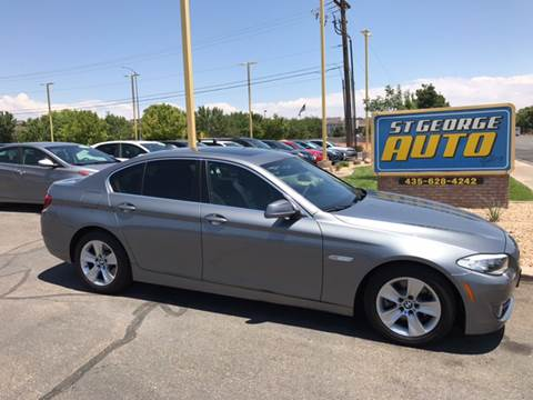 2012 BMW 5 Series for sale at St George Auto Gallery in St George UT
