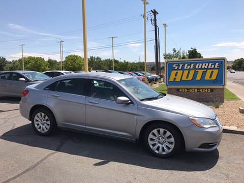 2013 Chrysler 200 for sale at St George Auto Gallery in St George UT