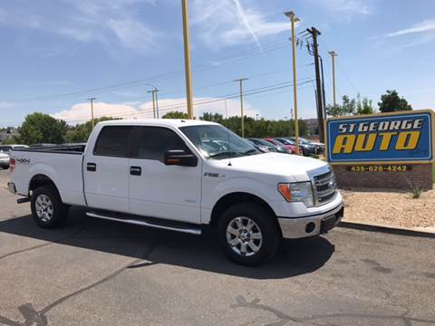 2014 Ford F-150 for sale at St George Auto Gallery in St George UT