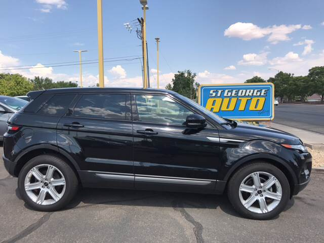 2012 Land Rover Range Rover Evoque for sale at St George Auto Gallery in St George UT