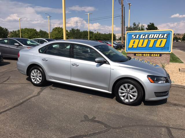 2015 Volkswagen Passat for sale at St George Auto Gallery in St George UT