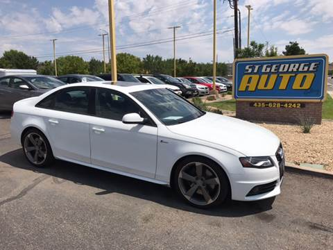 2012 Audi S4 for sale at St George Auto Gallery in St George UT