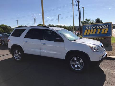 2012 GMC Acadia for sale at St George Auto Gallery in St George UT