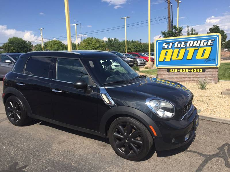 2011 MINI Cooper Countryman for sale at St George Auto Gallery in St George UT