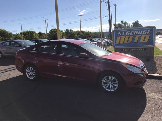 2012 Hyundai Sonata for sale at St George Auto Gallery in St George UT