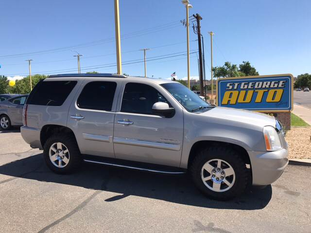 2008 GMC Yukon for sale at St George Auto Gallery in St George UT