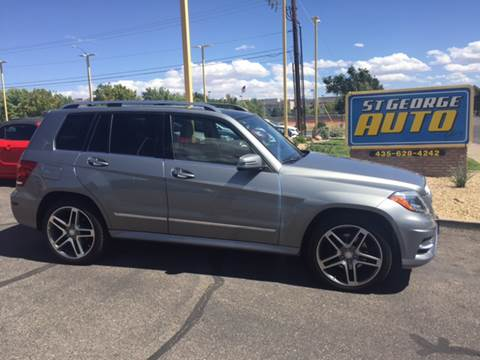 2013 Mercedes-Benz GLK for sale at St George Auto Gallery in St George UT