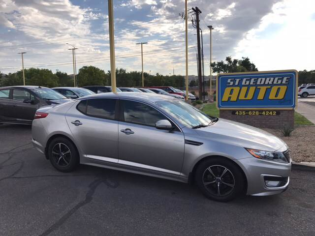 2013 Kia Optima Hybrid for sale at St George Auto Gallery in St George UT