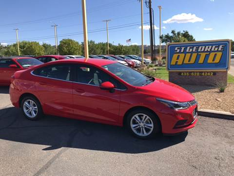 2017 Chevrolet Cruze for sale at St George Auto Gallery in St George UT