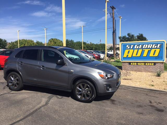 2013 Mitsubishi Outlander Sport for sale at St George Auto Gallery in St George UT