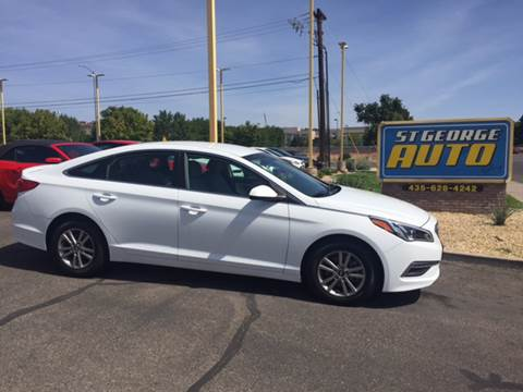 2015 Hyundai Sonata for sale at St George Auto Gallery in St George UT