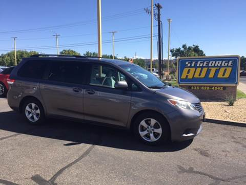 2011 Toyota Sienna for sale at St George Auto Gallery in St George UT