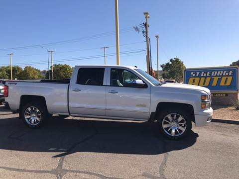 2014 Chevrolet Silverado 1500 for sale at St George Auto Gallery in St George UT