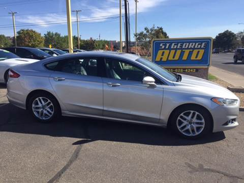 2013 Ford Fusion for sale at St George Auto Gallery in St George UT