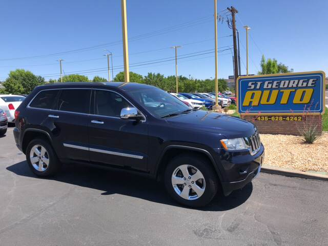 2011 Jeep Grand Cherokee Limited In St George Ut St George Auto
