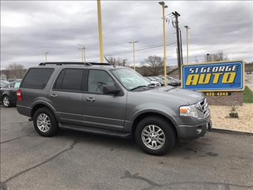 2011 Ford Expedition for sale at St George Auto Gallery in St George UT