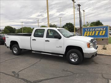 2010 GMC Sierra 2500HD for sale at St George Auto Gallery in St George UT