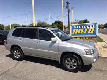 2006 Toyota Highlander for sale at St George Auto Gallery in St George UT