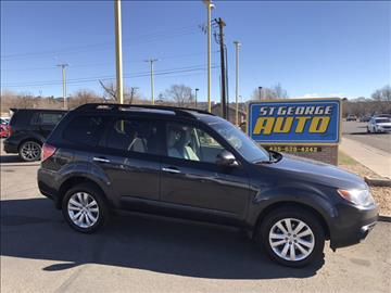 2012 Subaru Forester for sale at St George Auto Gallery in St George UT