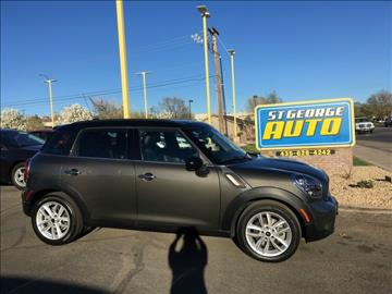 2012 MINI Cooper Countryman for sale at St George Auto Gallery in St George UT